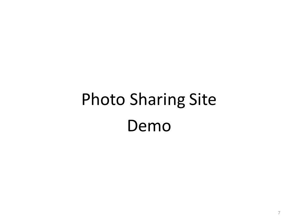 Photo Sharing Site Demo