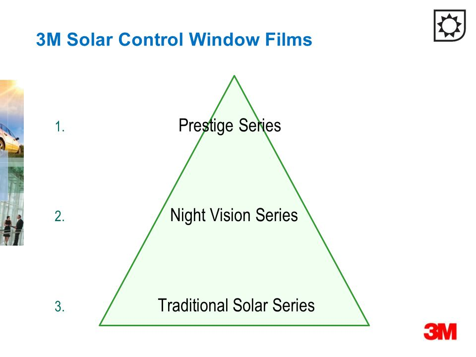 3M Solar Control Window Films