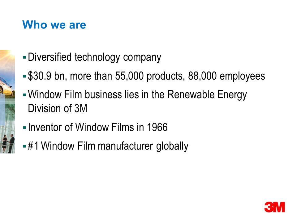 Who we are Diversified technology company. $30.9 bn, more than 55,000 products, 88,000 employees.