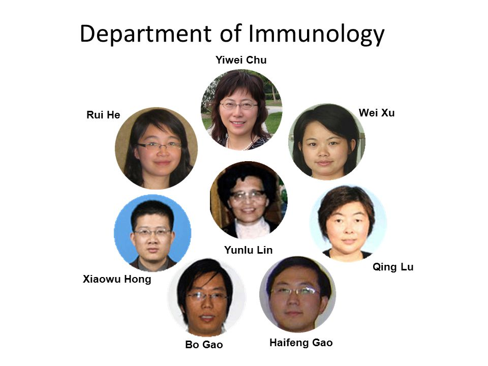 Department of Immunology