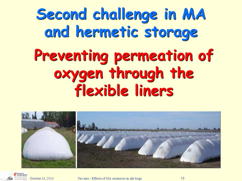 Second challenge in MA and hermetic storage