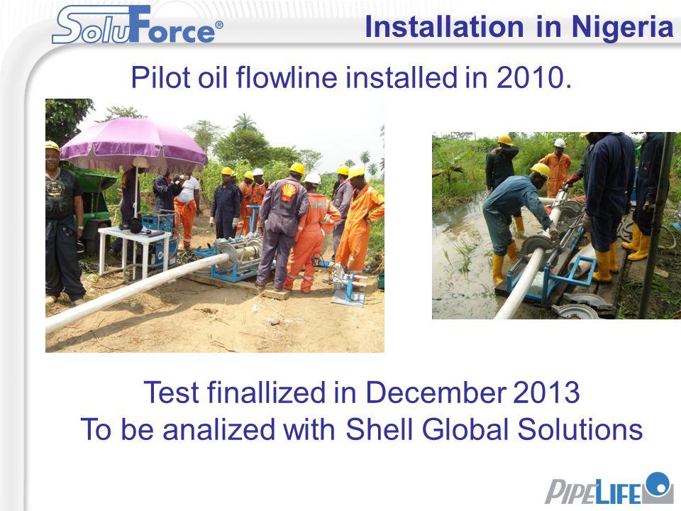 Installation in Nigeria