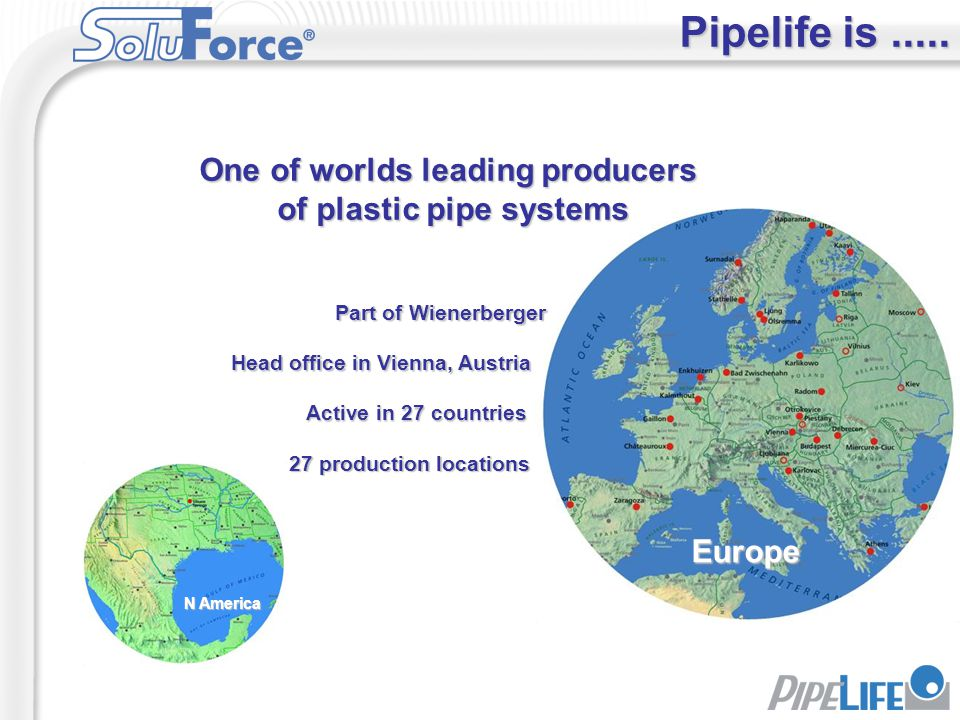 One of worlds leading producers of plastic pipe systems