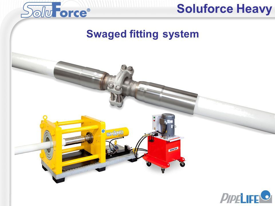 Soluforce Heavy Swaged fitting system