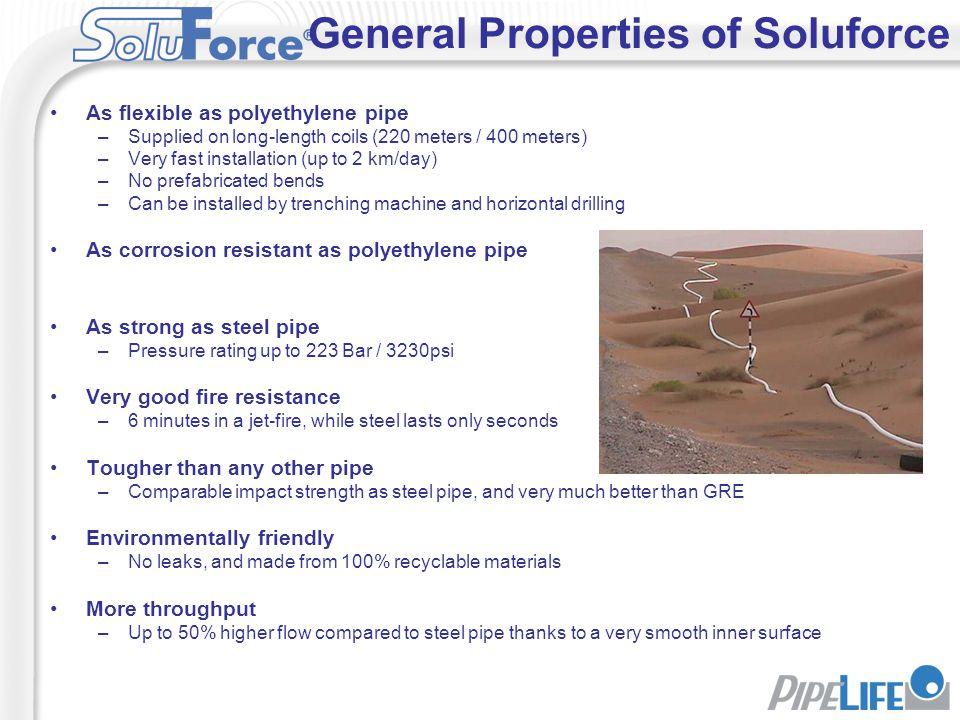 General Properties of Soluforce