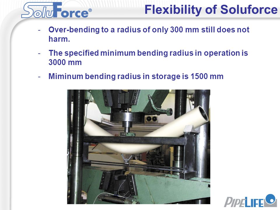 Flexibility of Soluforce