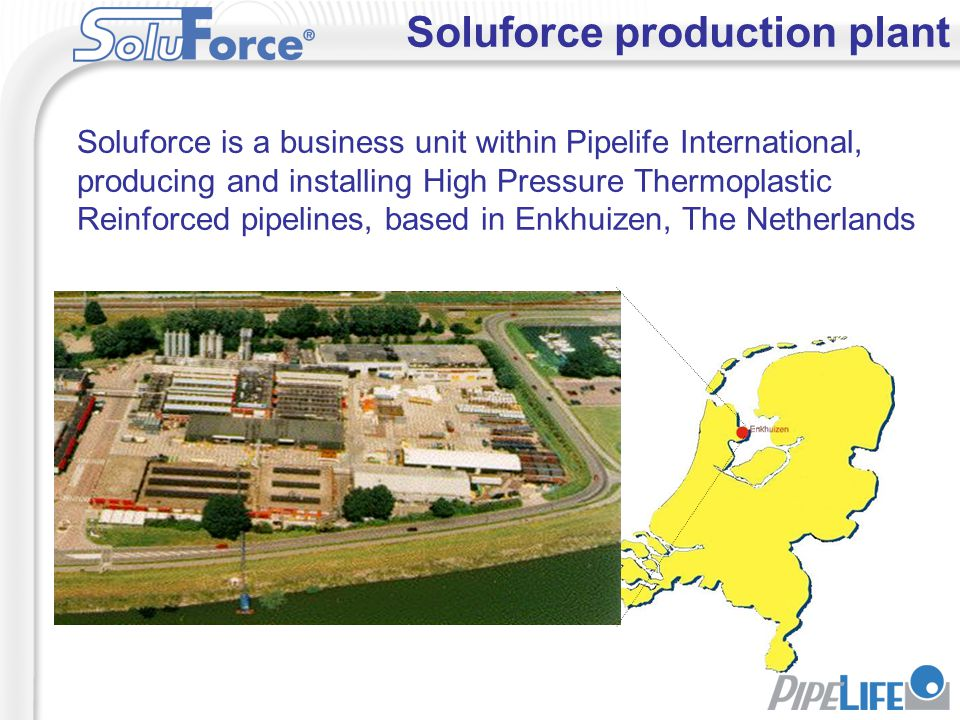 Soluforce production plant