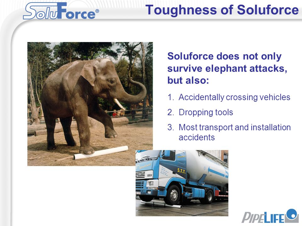 Toughness of Soluforce
