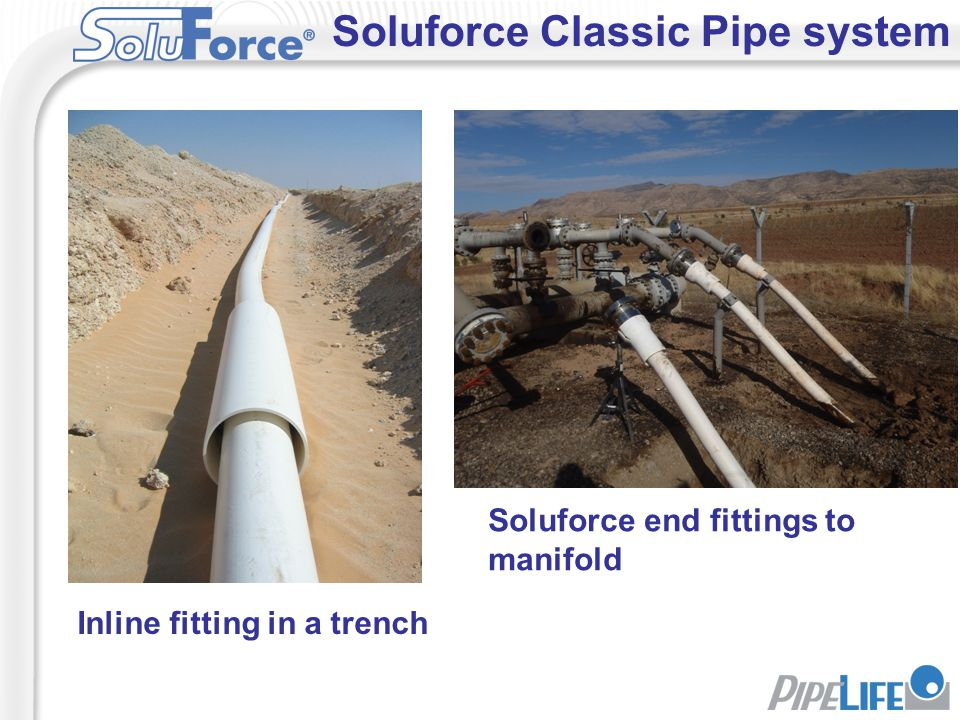 Soluforce Classic Pipe system
