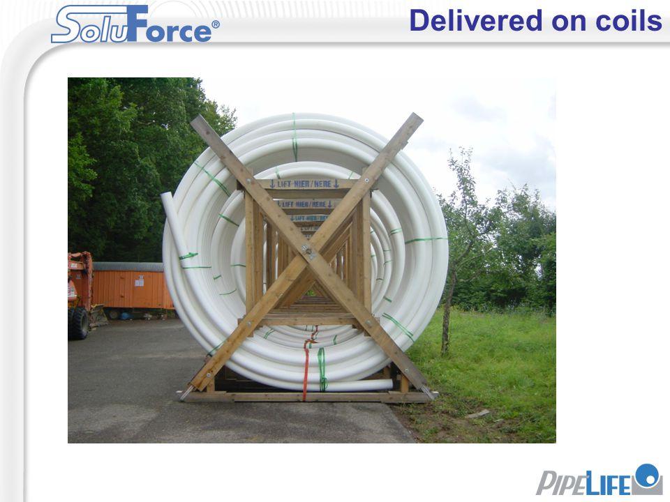 Delivered on coils