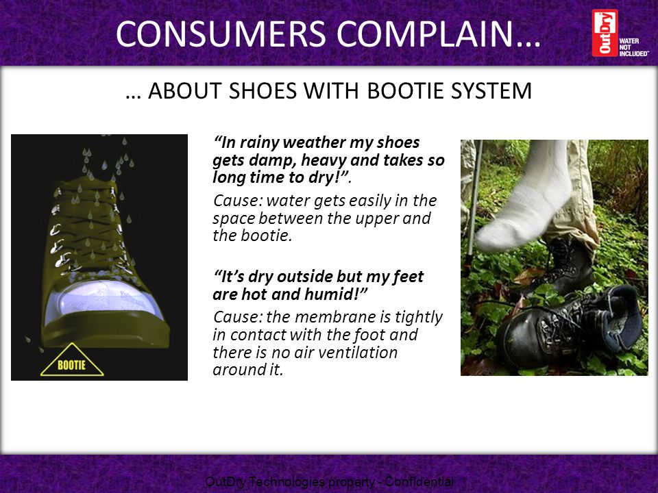 … About shoes with bootie system