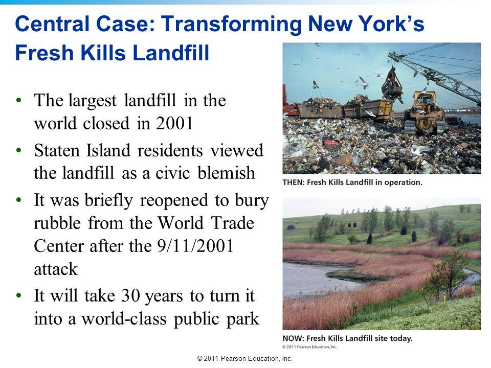 Central Case: Transforming New York's Fresh Kills Landfill