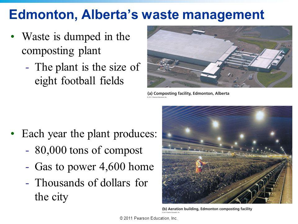 Edmonton, Alberta's waste management