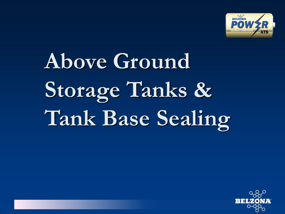 Above Ground Storage Tanks &