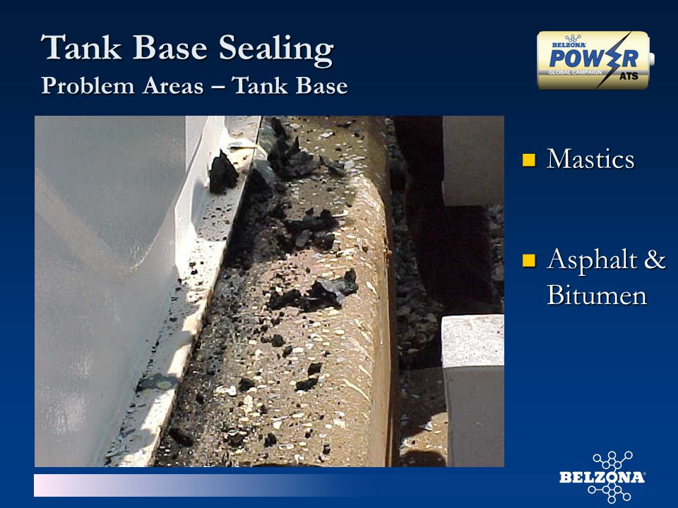 Tank Base Sealing Problem Areas – Tank Base