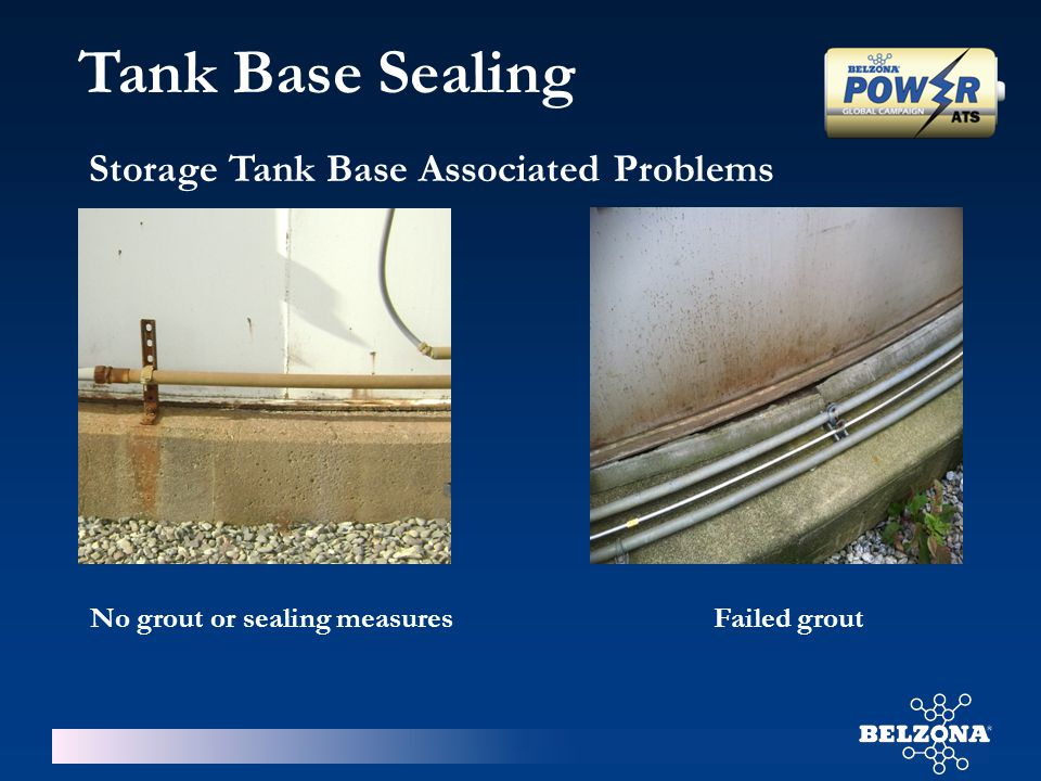 Tank Base Sealing Storage Tank Base Associated Problems