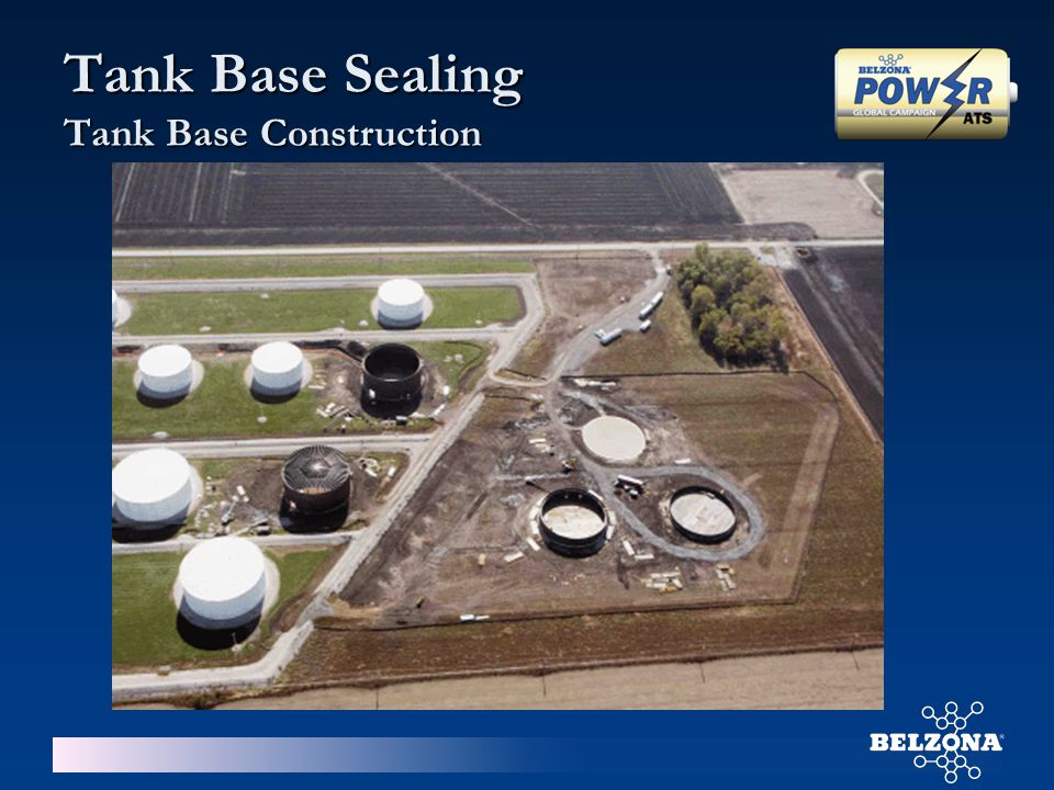 Tank Base Sealing Tank Base Construction