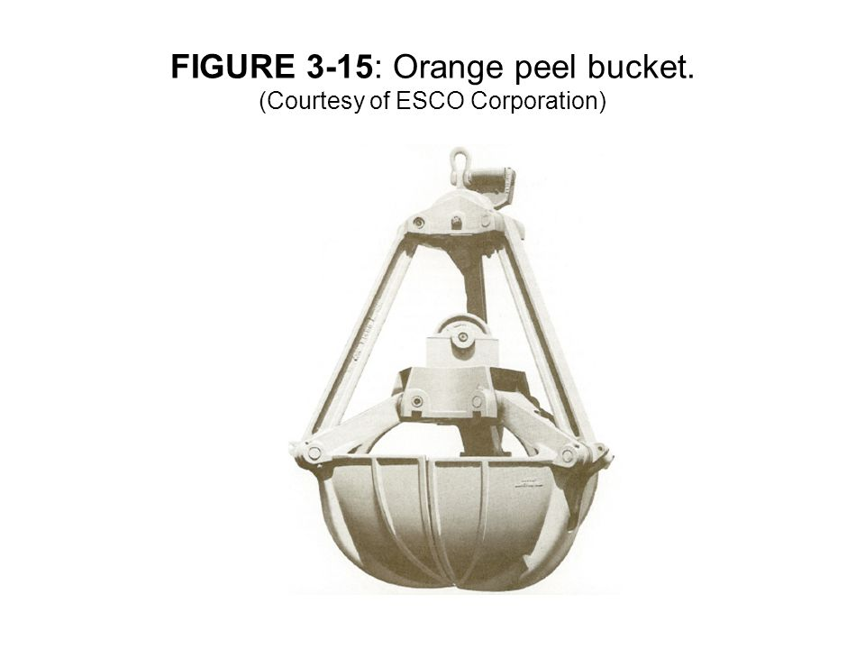 FIGURE 3-15: Orange peel bucket. (Courtesy of ESCO Corporation)