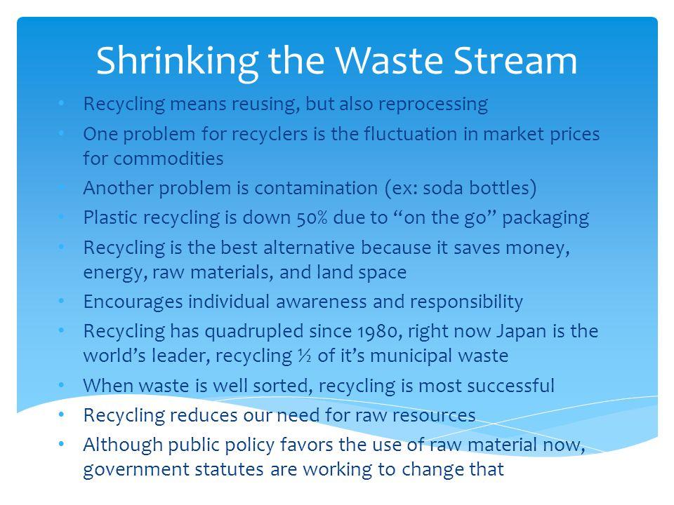 Shrinking the Waste Stream