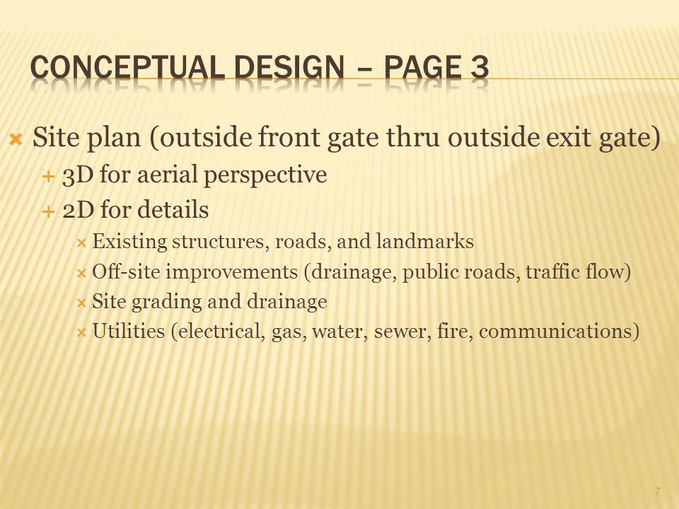 Conceptual Design – Page 3