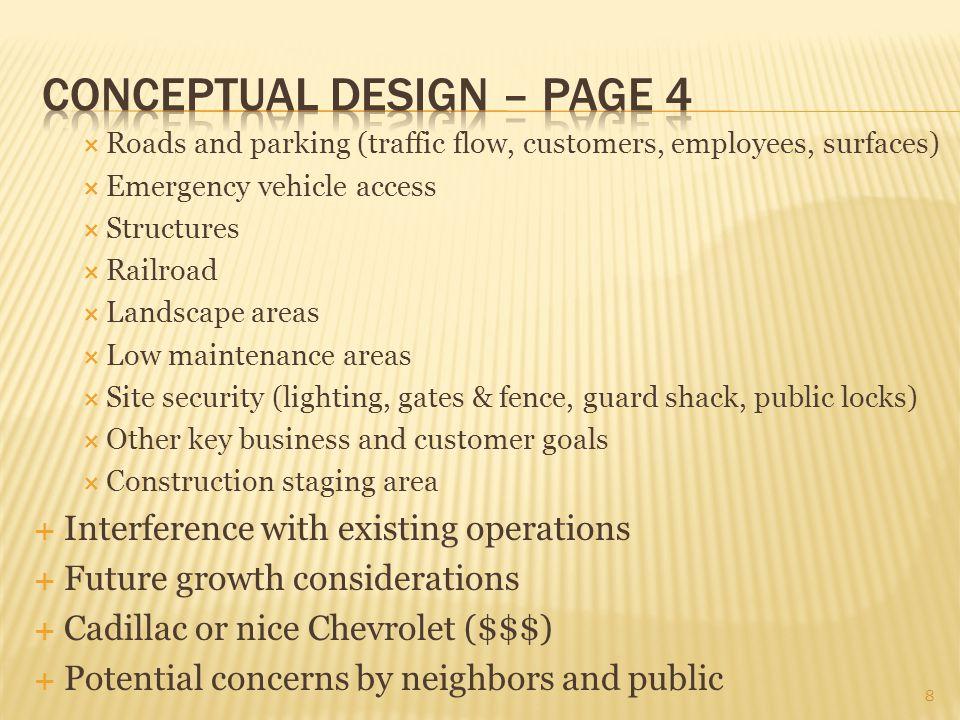 Conceptual design – page 4