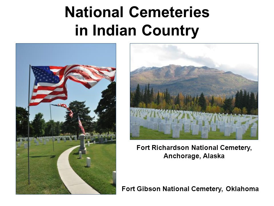 National Cemeteries in Indian Country