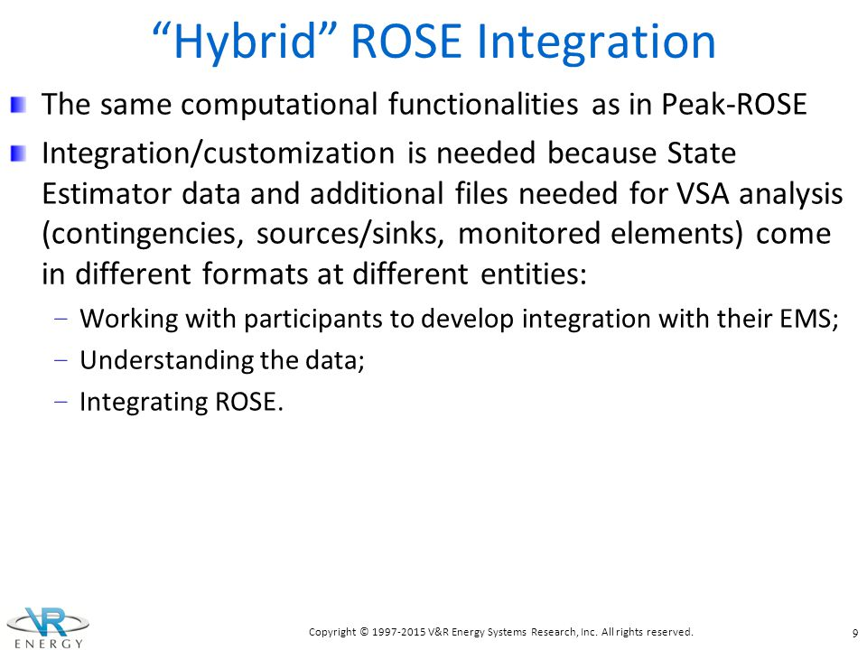 Hybrid ROSE Integration