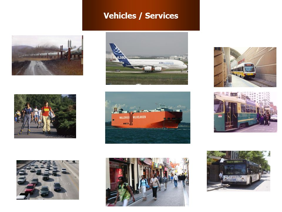 Vehicles / Services