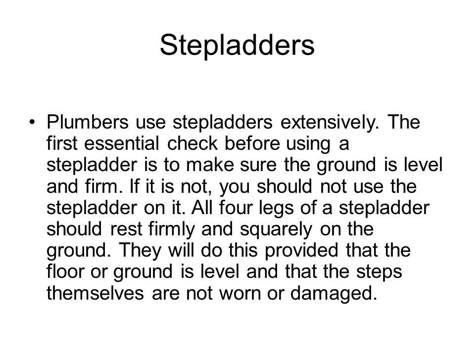 Stepladders
