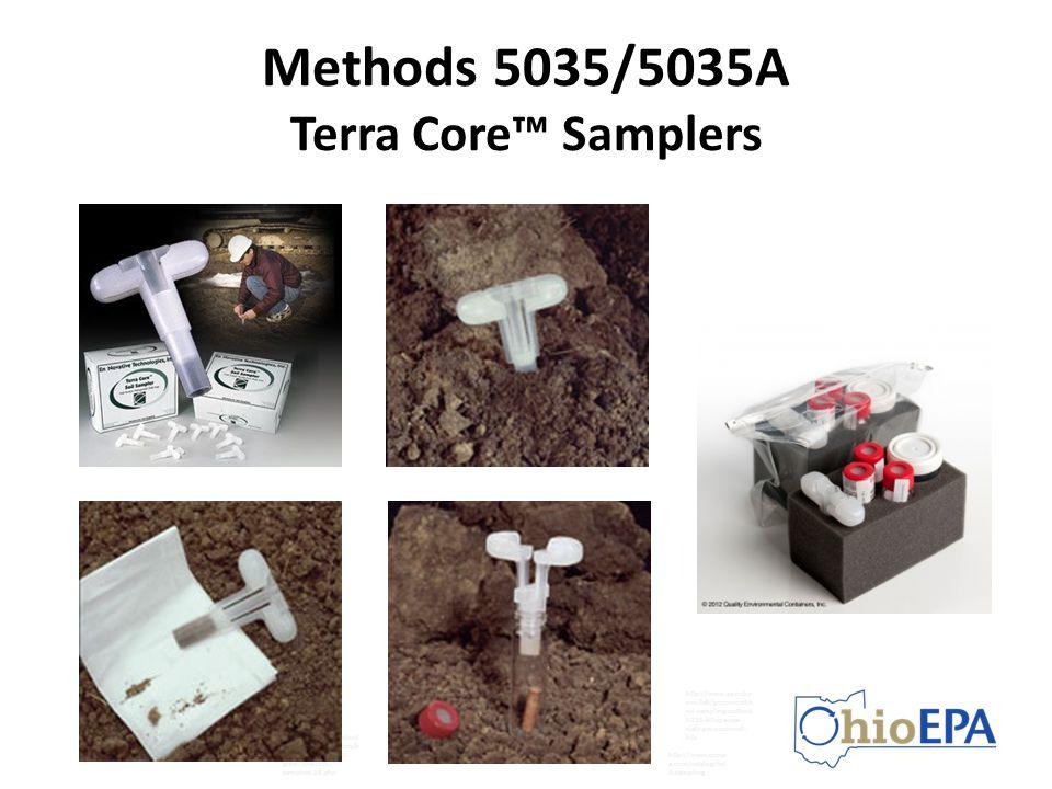 Methods 5035/5035A Terra Core™ Samplers