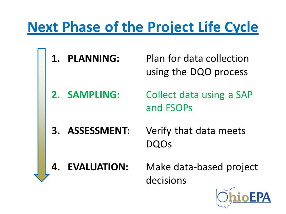 Next Phase of the Project Life Cycle