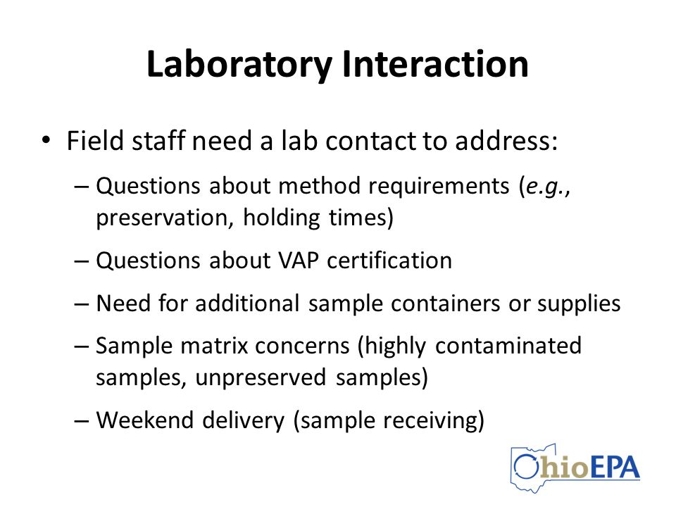 Laboratory Interaction