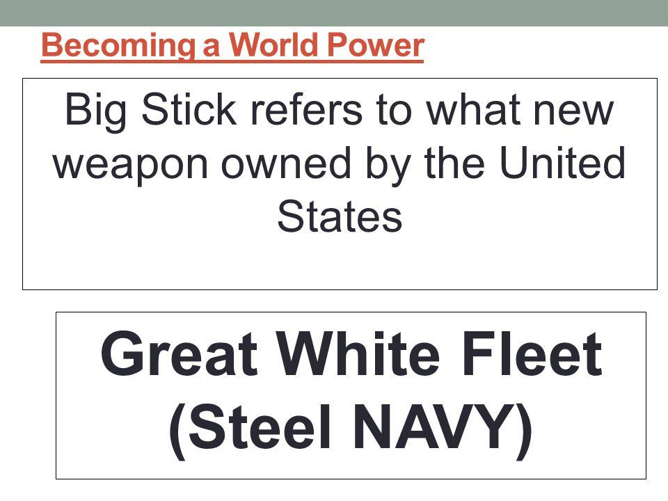 Great White Fleet (Steel NAVY)