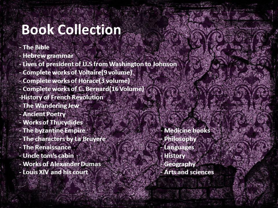 Book Collection - The Bible - Hebrew grammar