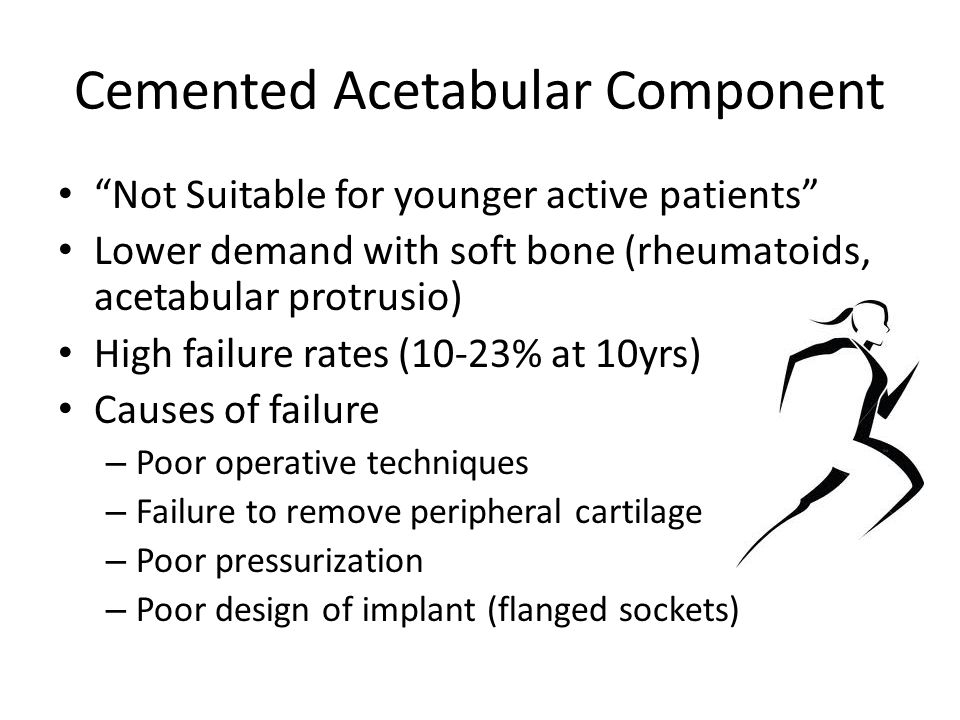 Cemented Acetabular Component