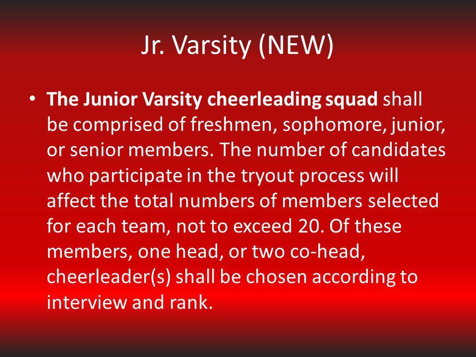 Jr. Varsity (NEW)