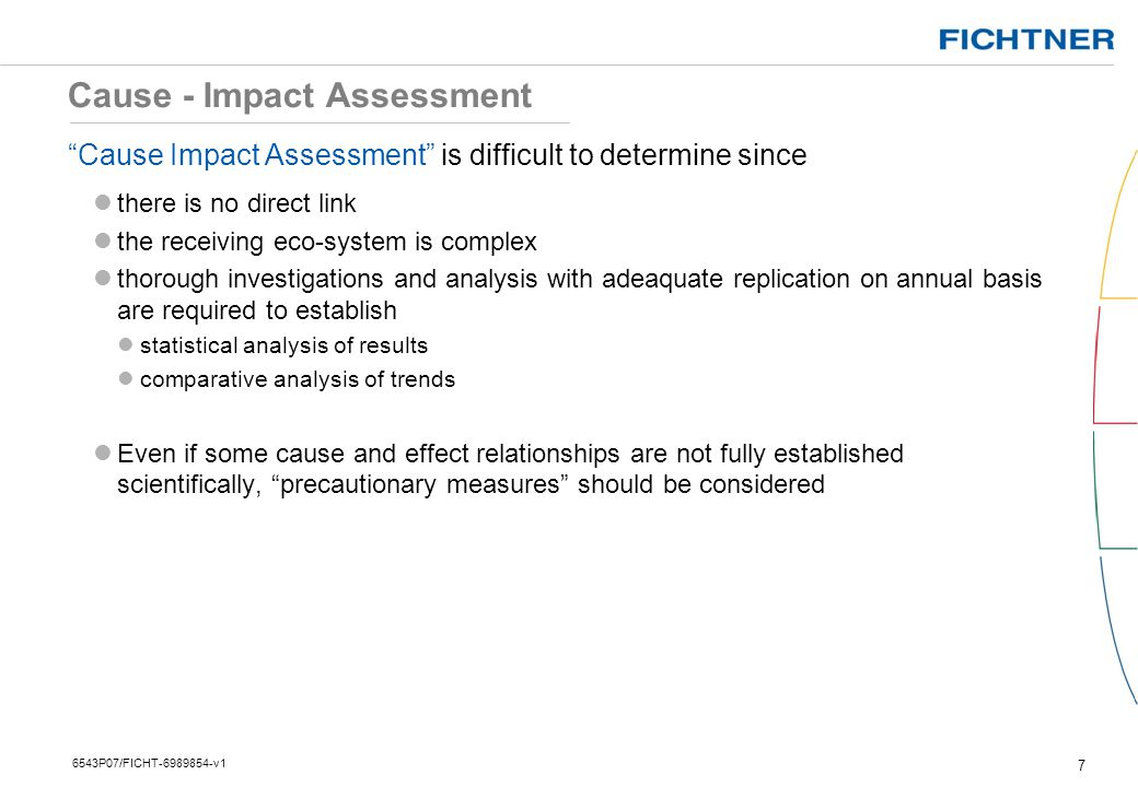 Cause - Impact Assessment