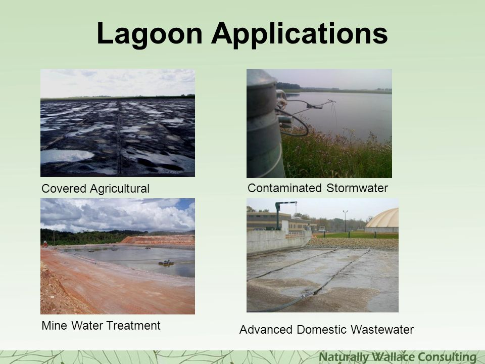 Lagoon Applications Covered Agricultural Contaminated Stormwater