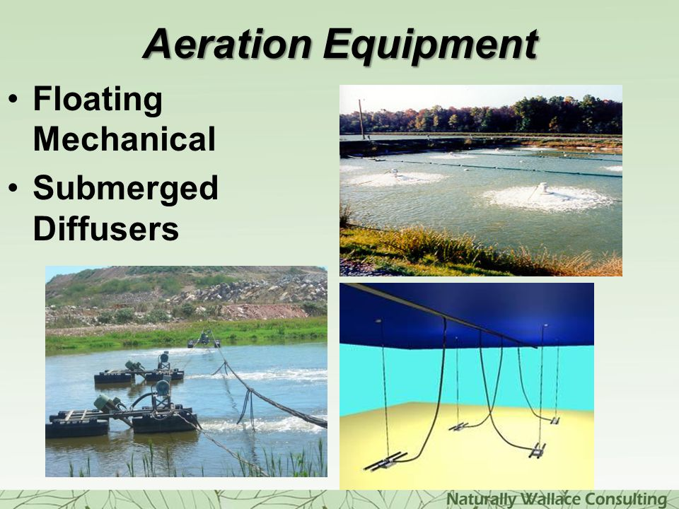 Aeration Equipment Floating Mechanical Submerged Diffusers