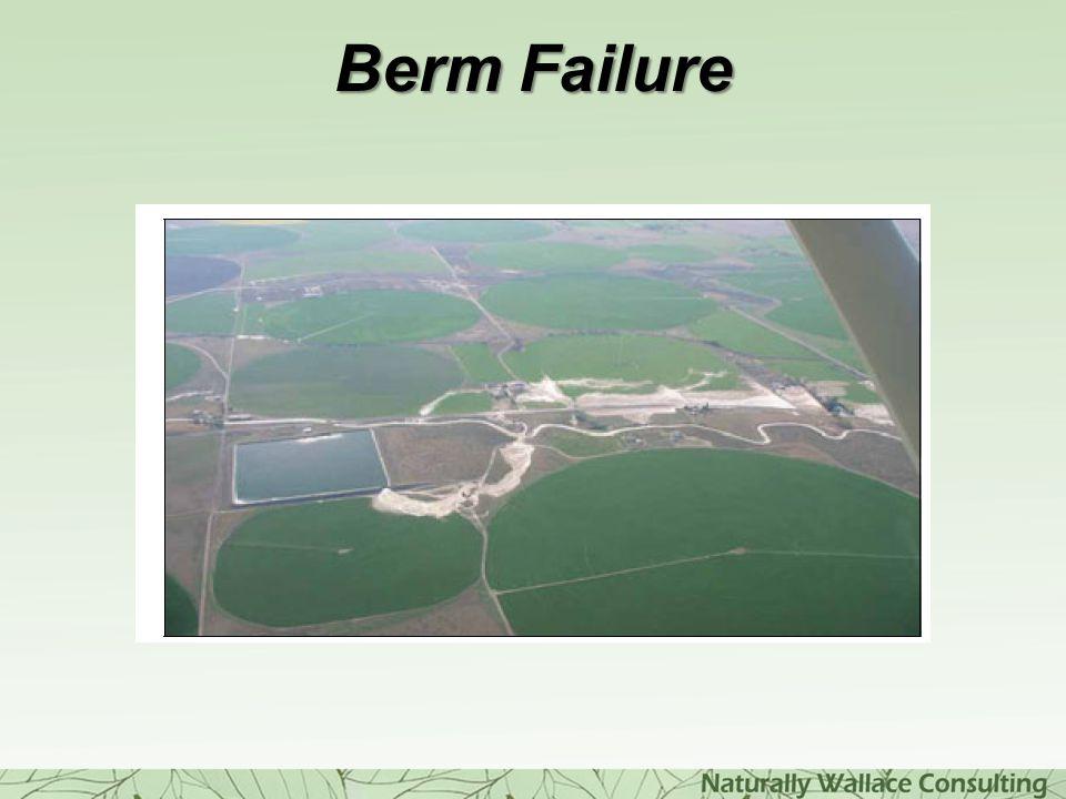 Berm Failure