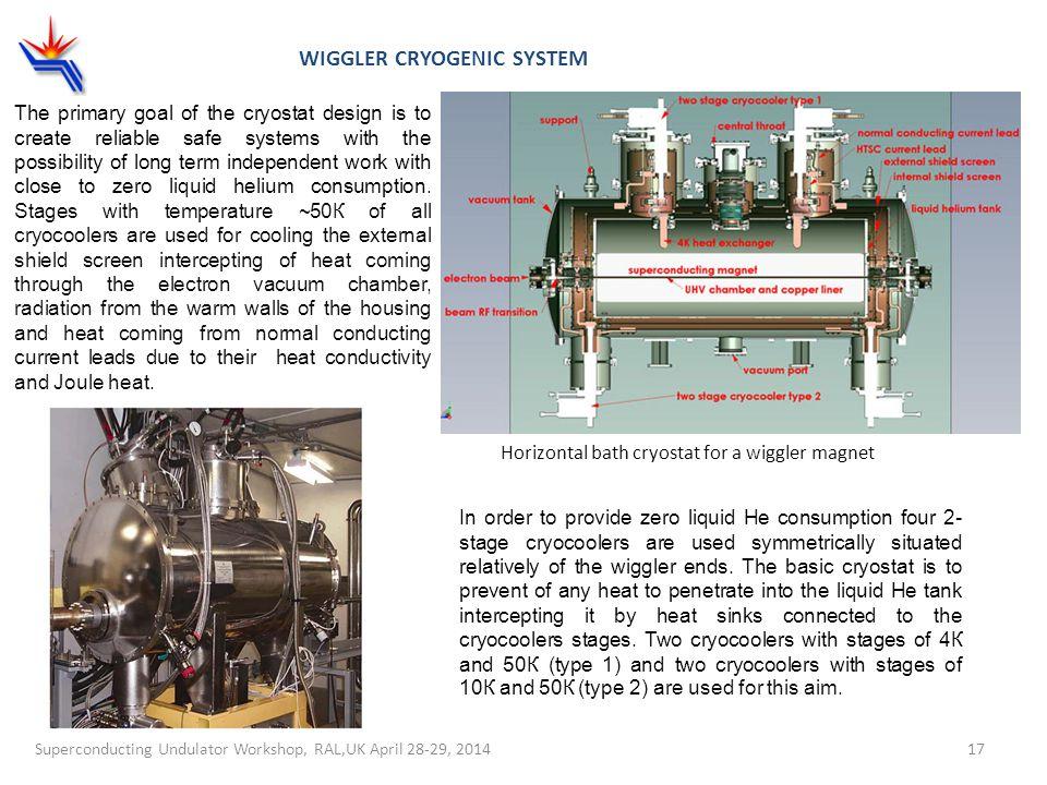 Wiggler cryogenic system