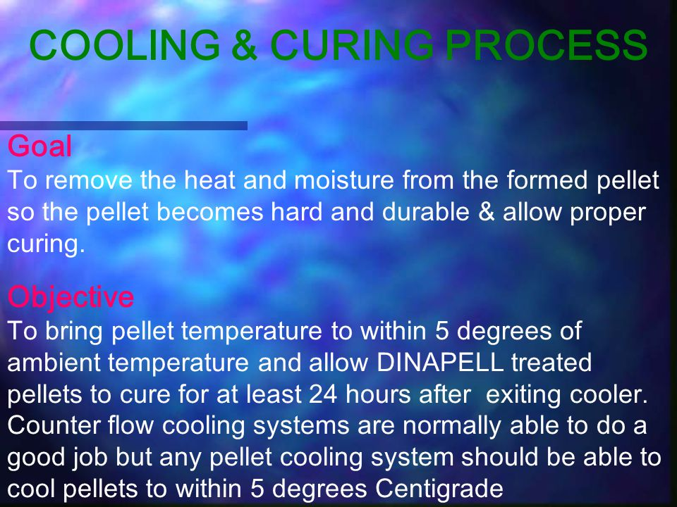 COOLING & CURING PROCESS
