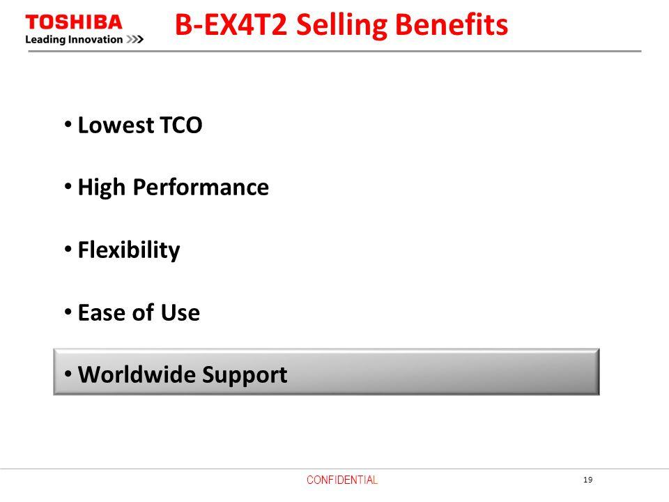 B-EX4T2 Selling Benefits