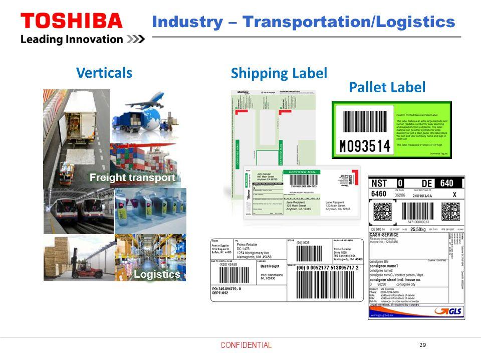 Industry – Transportation/Logistics
