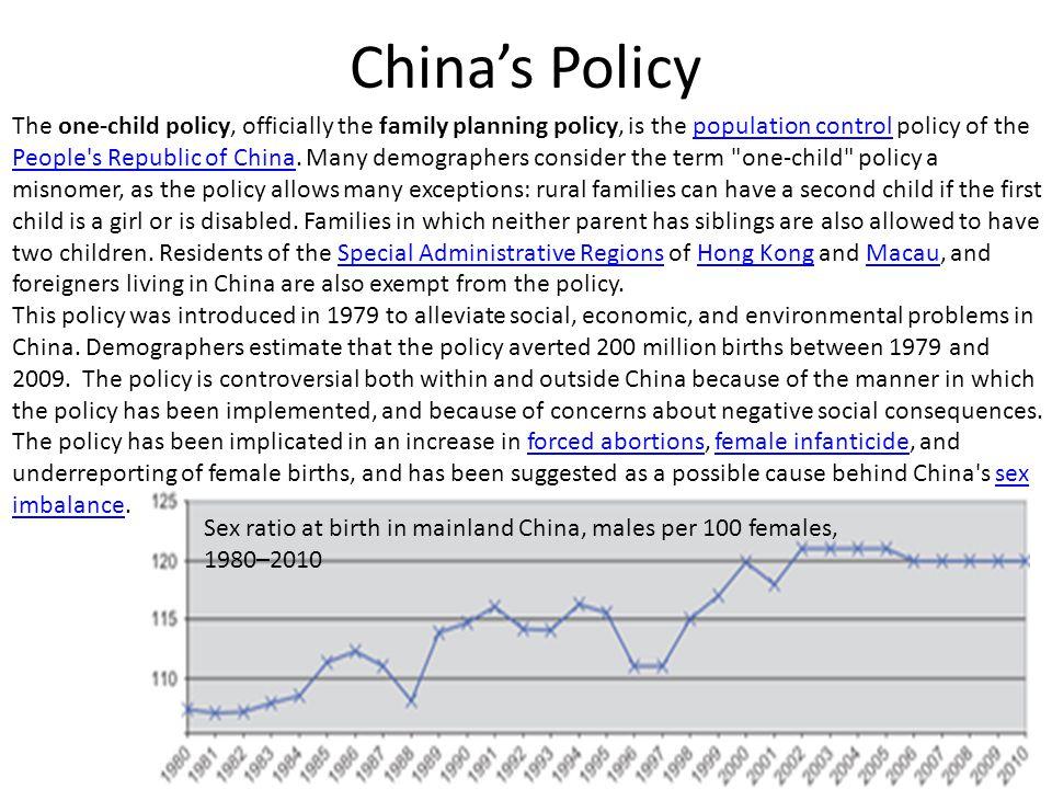 China's Policy