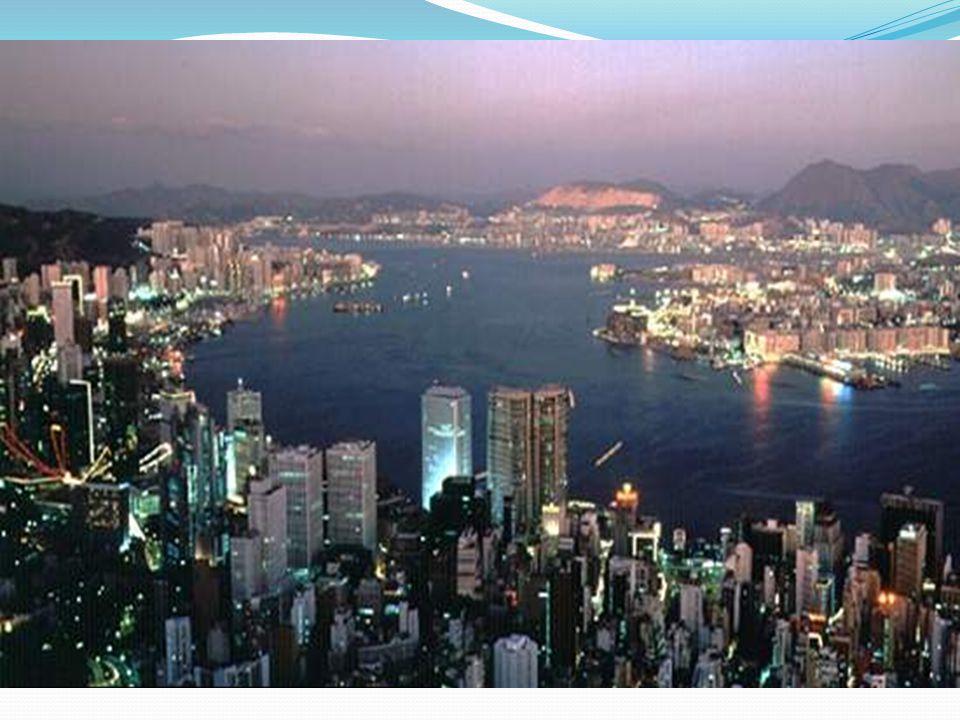 Hong Kong Harbour.