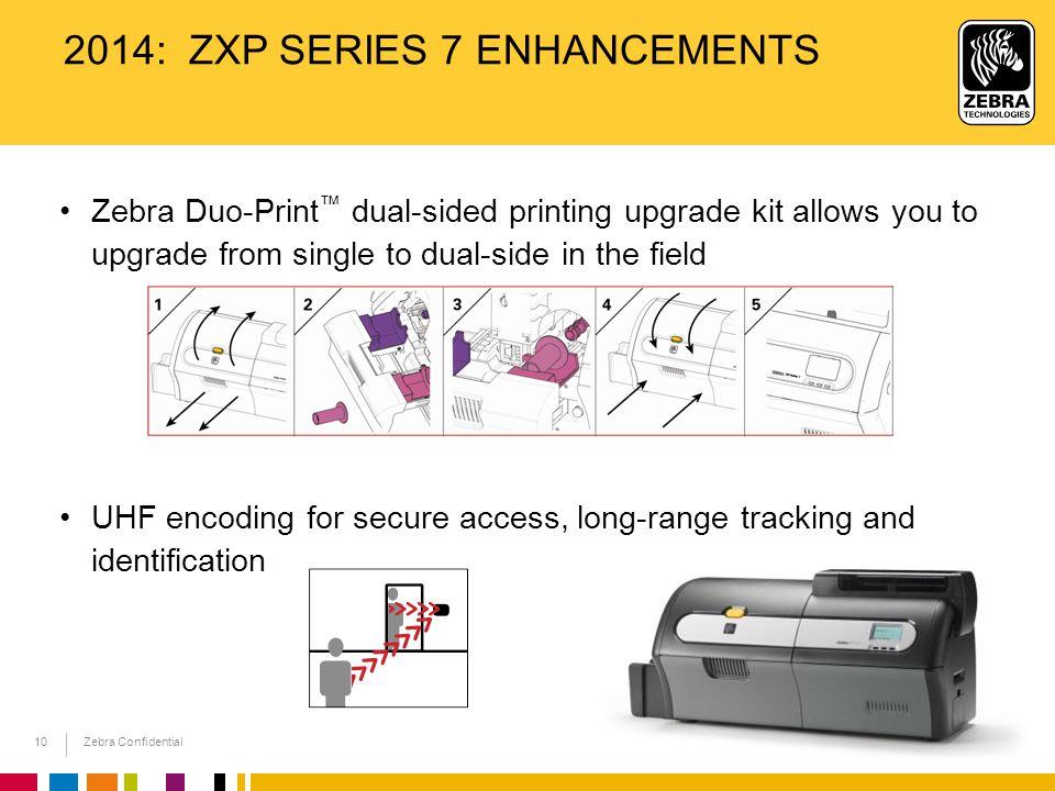 2014: ZXP Series 7 Enhancements
