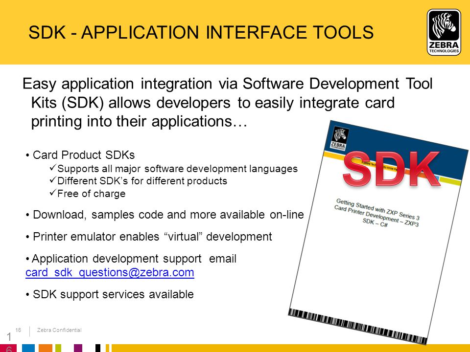 SDK - Application Interface Tools