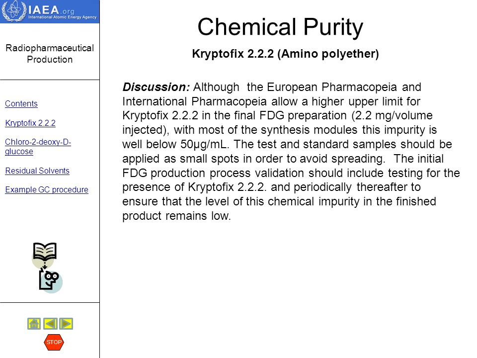 Chemical Purity Kryptofix 2.2.2 (Amino polyether)