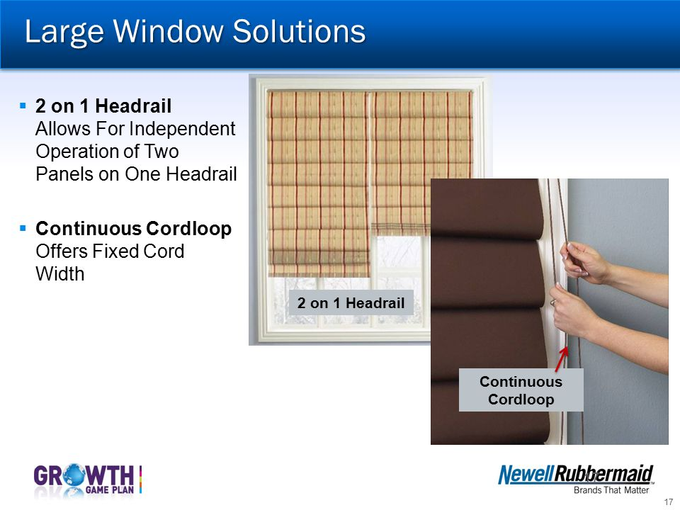 Large Window Solutions